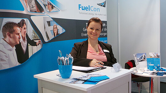 Messestand der FuelCon AG
